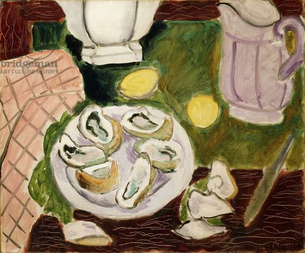 The Oysters; Les Huitres, 1941 (oil on canvas)
