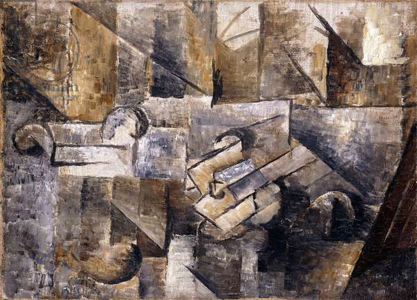 Glass, 1911 (oil on canvas)