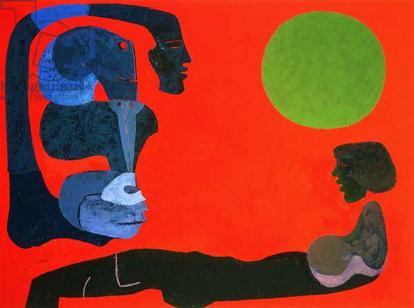 Untitled, 1979 (oil on canvas)