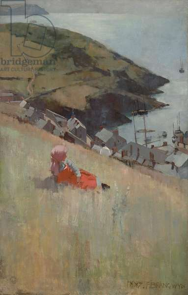 Above the Fishing Village, 1887 (oil on canvas)