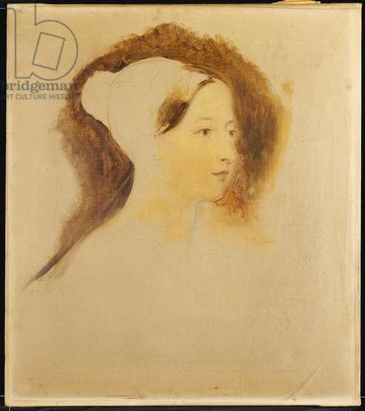 Portrait of Queen Victoria (w/c on paper)