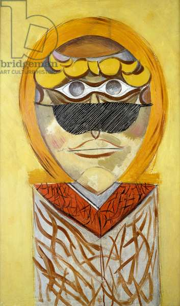 L'Homme Surrealist, 1929 (oil on panel)