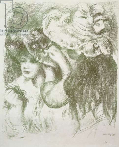 Hat Pin, First Board; Le Chapeau Epingle, Premiere Planche, c.1897 (lithograph)