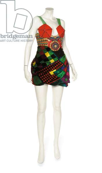 Micro mini dress, Gianni Versace, 1990s (photo)