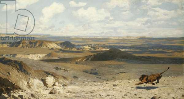 The Pursuit; Le Poursuite, 1889 (oil on canvas)
