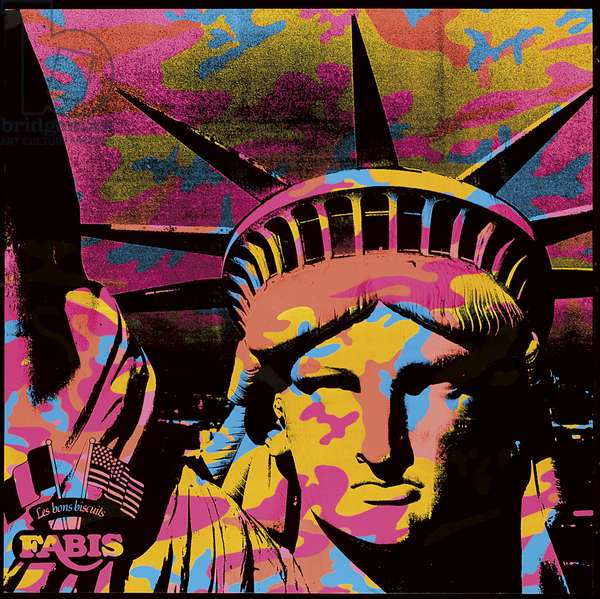 Statue of Liberty, 1986 (synthetic polymer & silkscreen inks on canvas)