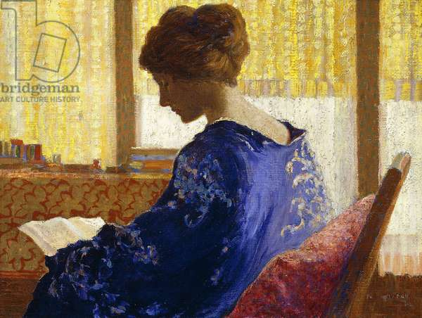 Silhouette, 1921 (oil on canvas)