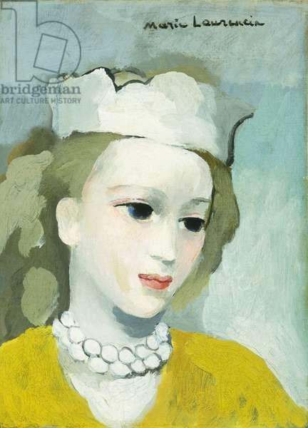 Head of a Woman; Tete de Femme, (oil on canvas)
