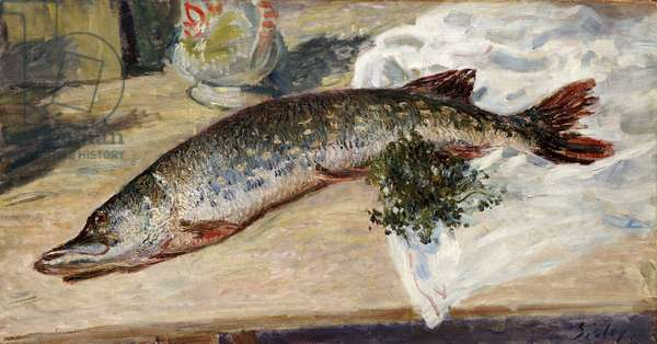 The Pike, 1888 (oil on canvas)