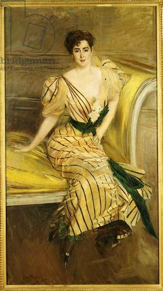 Portrait of Madame Josephina Alvear de Errazuriz, 1892 (oil on canvas)