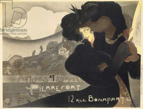 Pierrefort Posters and Prints; Affiches et Estampes Pierrefort, 1898 (lithograph in colours)
