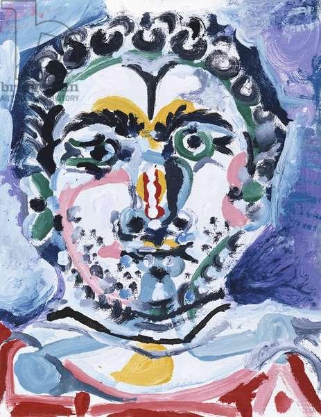 Self Portrait ? (oil on canvas)