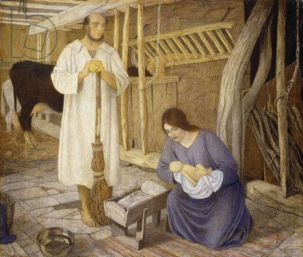 The Nativity, 1925 (tempera on linen)