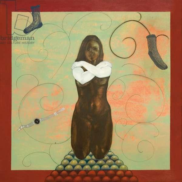 Untitled, 2007 (acrylic on canvas)