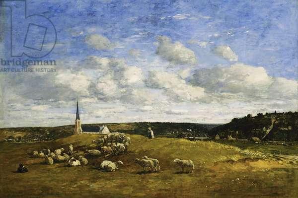 Deauville, 1870-1874 (oil on canvas)