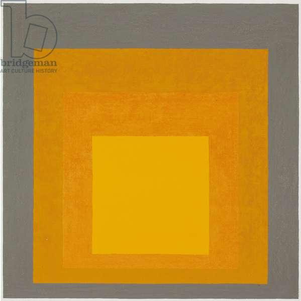 Study for Homage to the Square: Ritardando II, 1961 (oil on masonite)