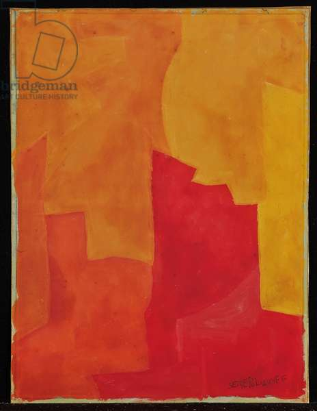 Untitled, 1962-63 (gouache on paper)