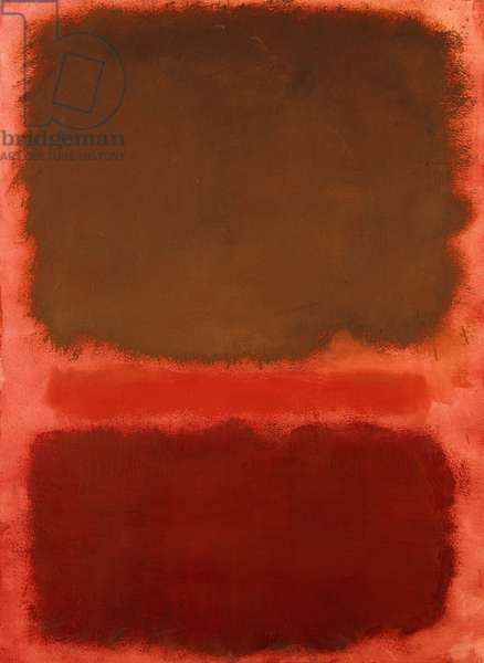 Untitled, 1959 (oil on paper mounted on paper)
