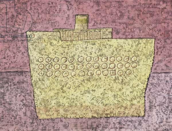 The Boat; Le Bateau, (oil on canvas)
