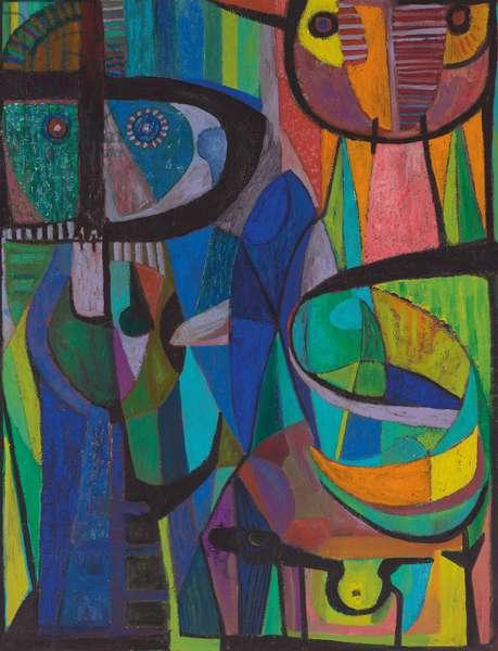 Los Alucinados, 1959 (oil on canvas)