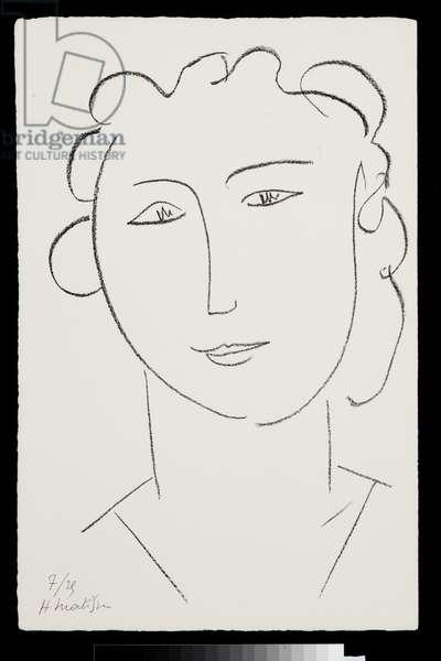 Marguerite V, 1945 (litho)
