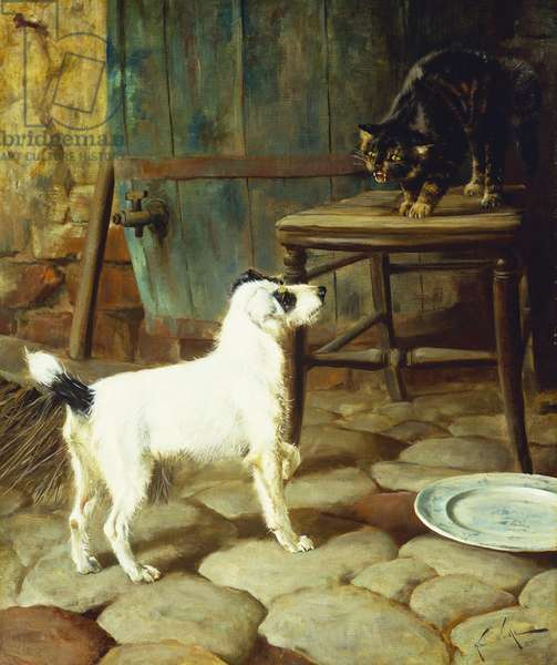 Can't we be Friends?, 1890 (oil on canvas)