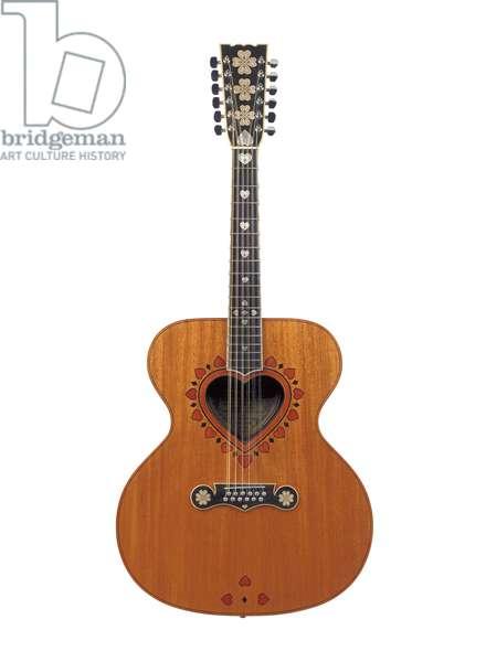 Anthony C. Zemattis guitar, 1969 (rosewood, mahogany, ebony & silver)