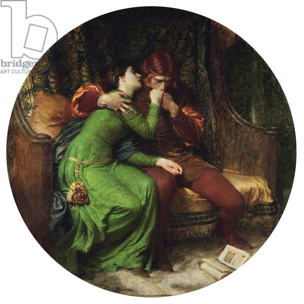 Paolo and Francesca, 1894 (oil on canvas)