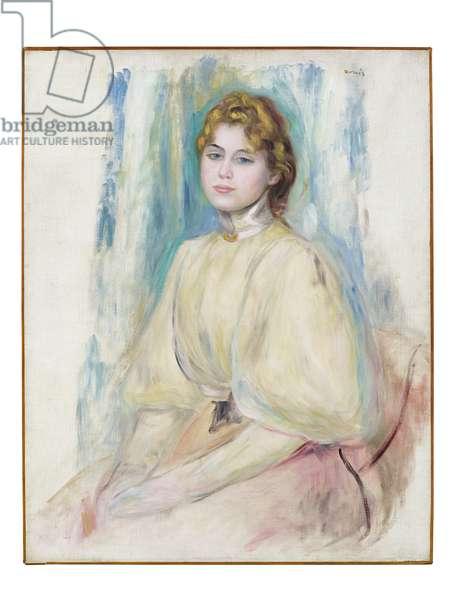 Portrait of Mademoiselle Yvonne Lerolle, c.1894 (oil on canvas)