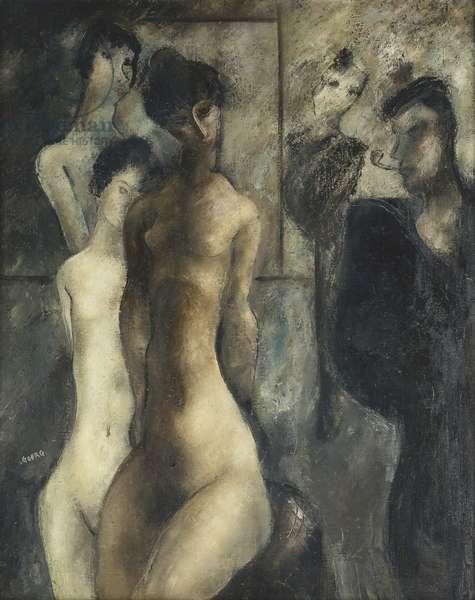 The Sailor; Le Marin, (oil on canvas)