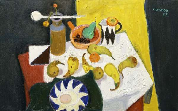 Still Life with Pears, 1992 (oil on canvas)