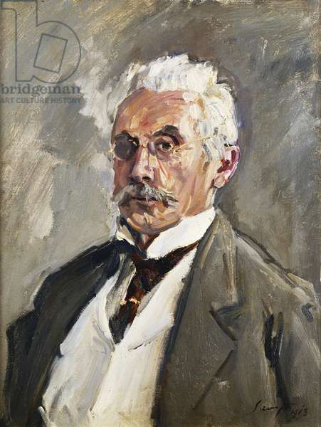 Portrait of Carl Steinbart, 1910 (oil on canvas)