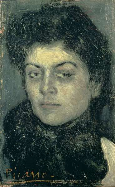 Portrait of Lola, Sister of the Artist, 1901 (oil on panel)