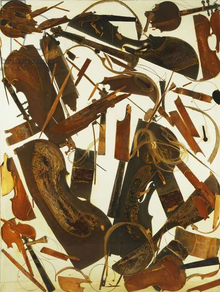 House Quintette; Casa Quintette, 1971 (violins and cellos in perspex-sheets)