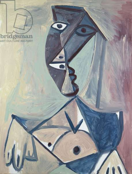 Buste de Femme, 26th June 1971 (oil on canvas)