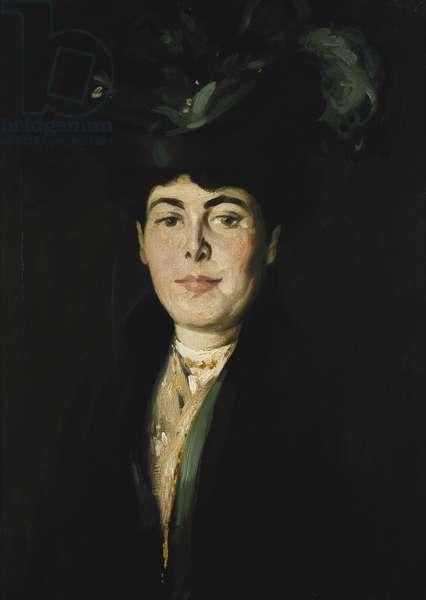 A Portrait of Miss Anna MacDonald, c. 1902 (oil on canvas)