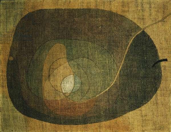 The Fruit, 1932 (oil on burlap)