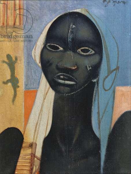 The Negro Woman; La Negresse, (oil on canvas)