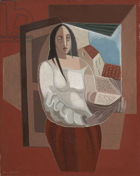 The Reader; La liseuse, 1926 (oil on canvas)