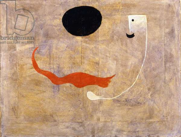 Painting (The Man with the Moustache), 1925 (oil on canvas)