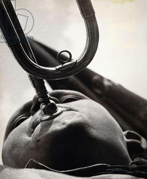 Pioner-trubach - Pioneer Bugler, 1930, 1930 (gelatin silver print)