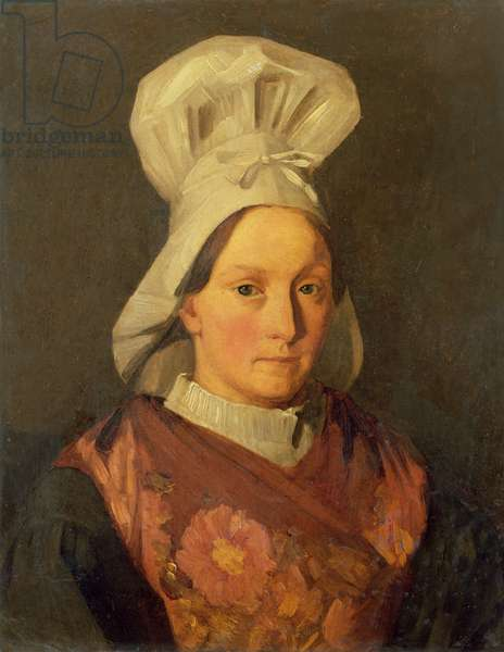 Portrait of the artist's sister, Emily, c.1841-45 (oil on canvas)