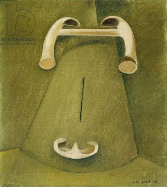 Head of a Bull, 1948 (oil on canvas)