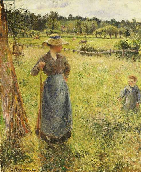 The Haymaker, 1884 (oil on canvas)