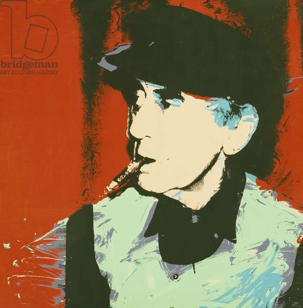 Man Ray, 1975 (colour screenprint)