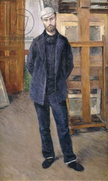 Portrait of Pierre Rabot, Full-Length; Portrait de Pierre Rabot; en Pied, 1893 (oil on canvas)