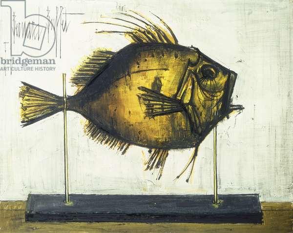 Fish; Poisson, 1958 (oil on canvas)