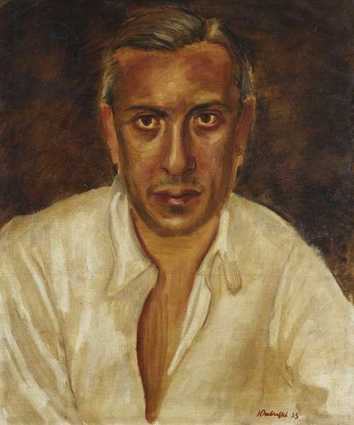 Portrait de Marcel Fize, 1933 (oil on canvas)