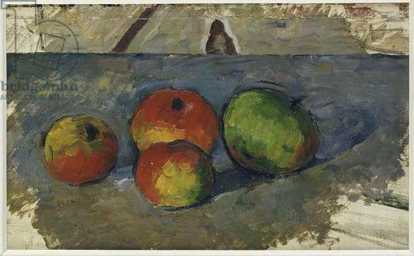 Four Apples, c.1879-82 (oil on canvas)