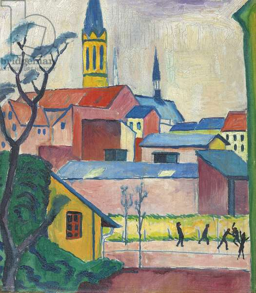 Marienkirche, 1911 (oil on canvas)